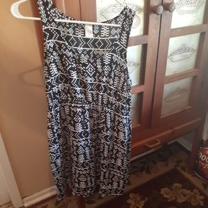 Casual dress for summer junior size L
